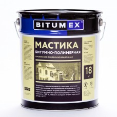 Mastic bitumno-polymeric roofing and waterproofing BITUMEX